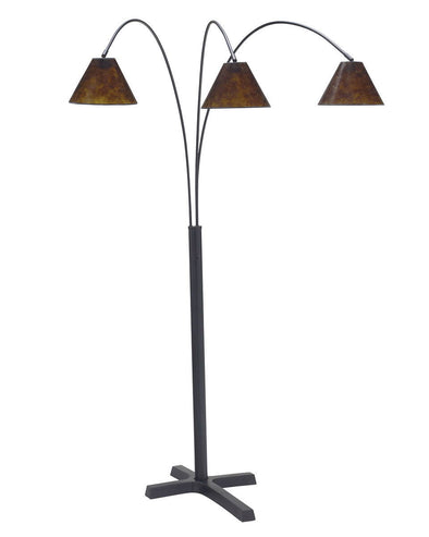 Sharde - Black - Metal Arc Lamp (1/CN)