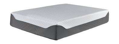 14 Inch Chime Elite - White/Blue - King Mattress