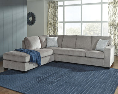 Altari - Alloy - LAF Corner Chaise & RAF Sofa Sectional