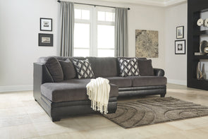 Kumasi - Smoke - LAF Corner Chaise & RAF Sofa Sectional