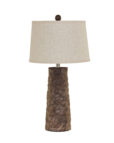 Sinda - Gray - Poly Table Lamp (2/CN)