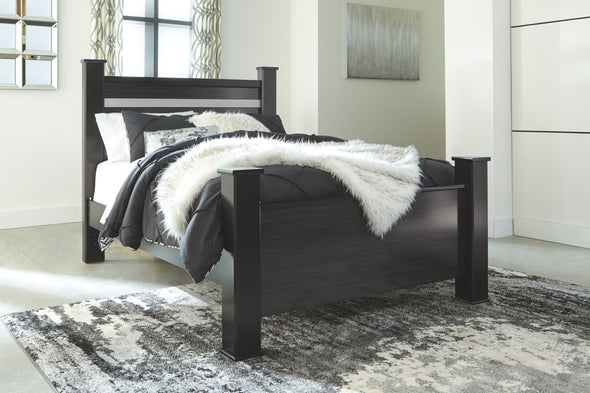 Starberry - Black -  Poster Bed