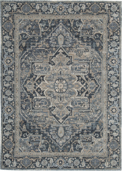 Paretta - Cream/Navy/Gray - Large Rug