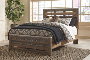 Chadbrook - Brown -  Panel Bed