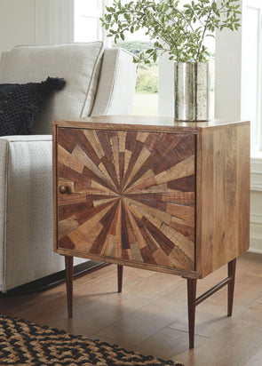 Dorvale - Two-tone Brown - Accent Cabinet