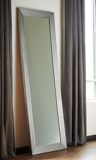 Duka - Silver Finish - Floor Mirror