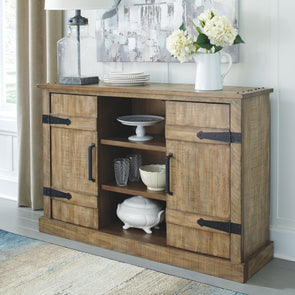 Susandeer - Brown - Accent Cabinet