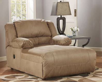 Hogan - Mocha - Press Back Chaise