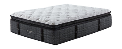 Loft And Madison Cushion Firm PT - White - California King Mattress