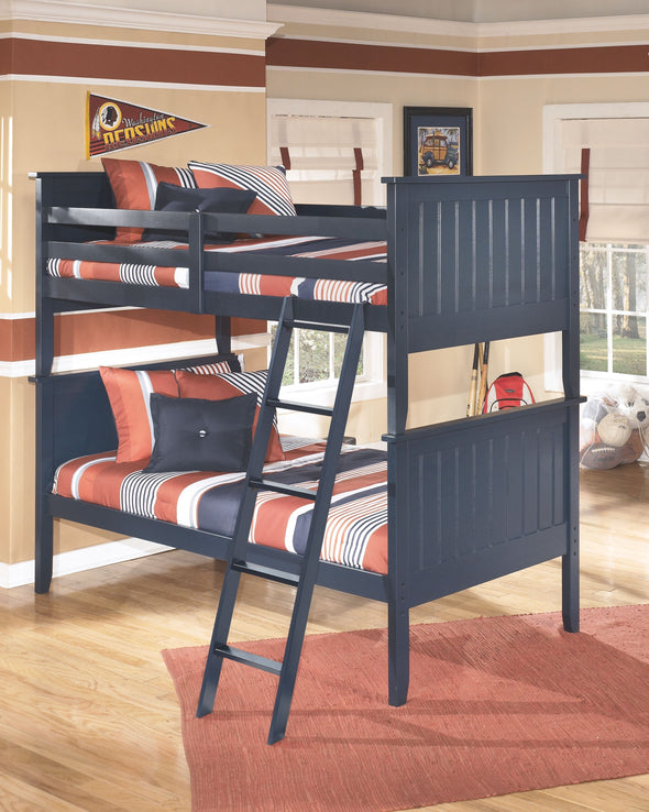 Leo - Blue - Bunk Bed (twin/twin)