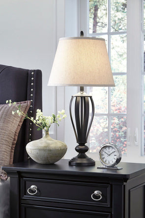 Mildred - Bronze Finish - Metal Table Lamp (2/CN)