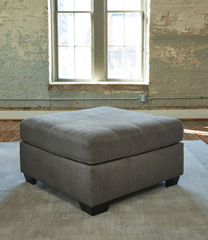 Pitkin - Slate - Oversized Accent Ottoman