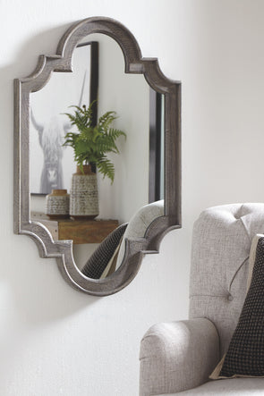 Williamette - Antique Gray - Accent Mirror