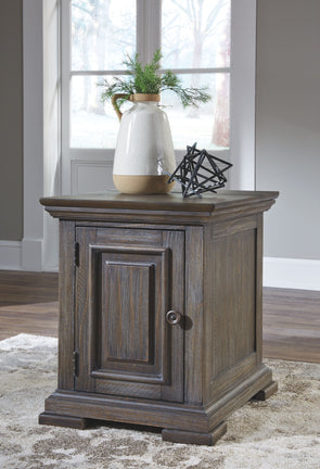 Wyndahl - Brown - Chair Side End Table