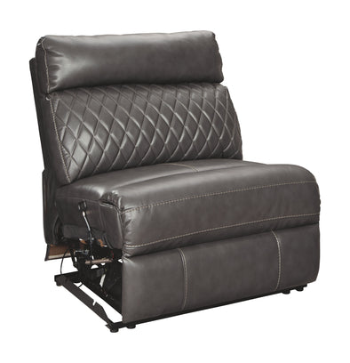 Samperstone - Gray - Armless Recliner