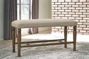 Lettner - Gray/Brown - Extra Large UPH DRM Bench