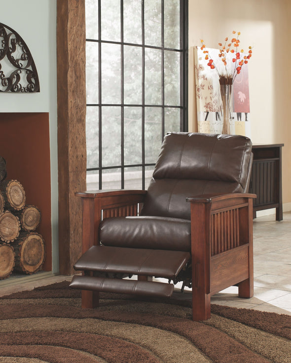 Santa Fe - Bark - High Leg Recliner