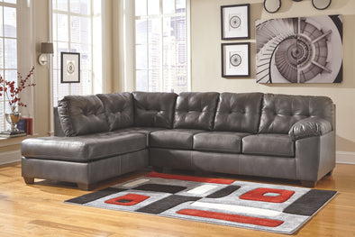 Alliston - Gray - LAF Corner Chaise & RAF Sofa Sectional