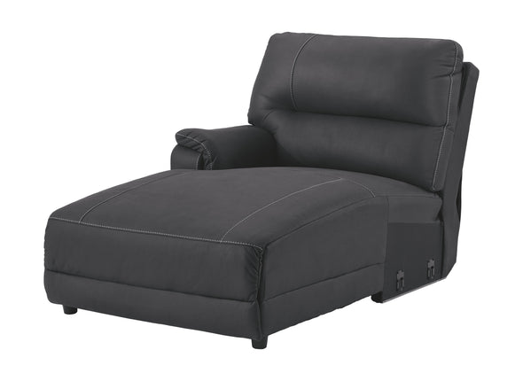Henefer - Midnight - LAF Press Back Power Chaise