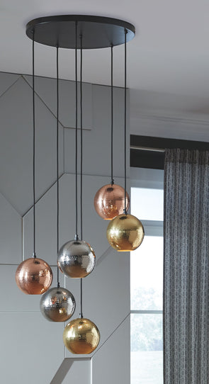 Adiana - Multi - Metal Pendant Light (1/CN)