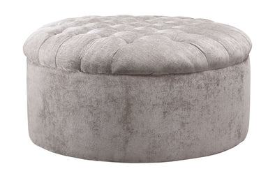 Carnaby - Dove - Oversized Accent Ottoman
