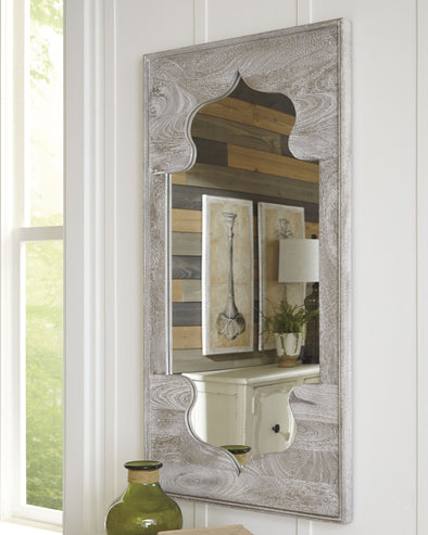 Bautista - Antique Gray - Accent Mirror