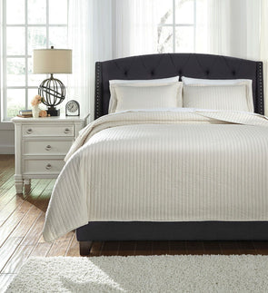 Raleda - Buff - King Coverlet Set