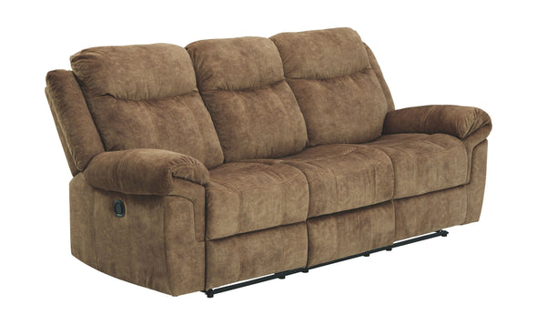 Huddle-Up - Nutmeg - REC Sofa w/Drop Down Table