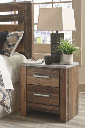 Chadbrook - Brown - Two Drawer Night Stand