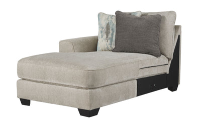 Ardsley - Pewter - LAF Corner Chaise