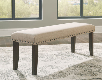 Rokane - Light Brown - Large UPH Dining Room Bench