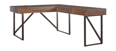 Starmore - Brown - Home Office Desk Return