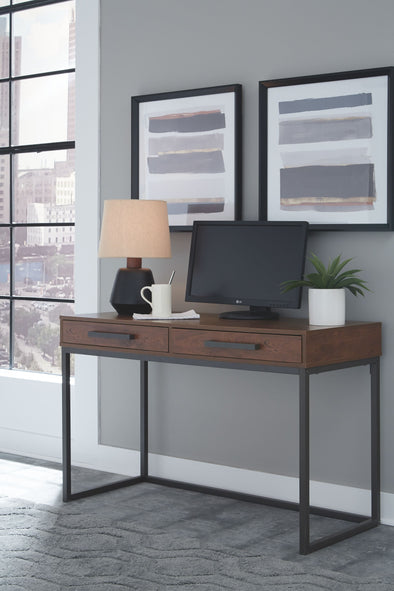 Horatio - Dark Brown - Home Office Small Desk