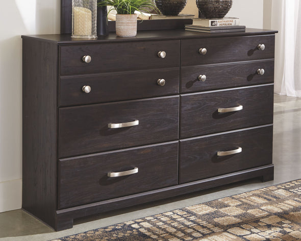 Reylow - Dark Brown - Dresser