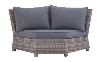 Salem Beach - Gray - Corner with Cushion (1/CN)