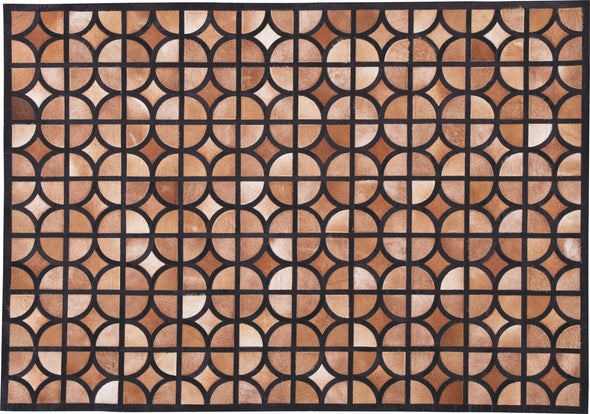 Jingjin - Black/Brown - Medium Rug