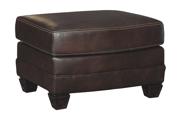 Embrook - Chocolate - Ottoman