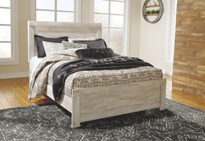 Bellaby - Whitewash -  Panel Bed