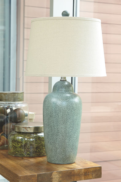 Saher - Green - Ceramic Table Lamp (1/CN)