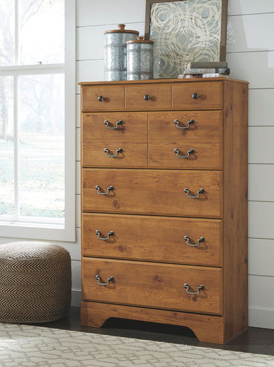 Bittersweet - Light Brown - Five Drawer Chest