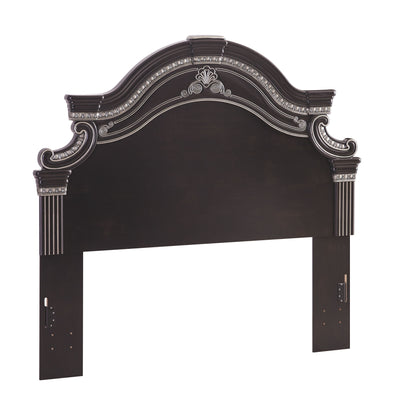 Banalski - Dark Brown - Queen/Full Panel Headboard