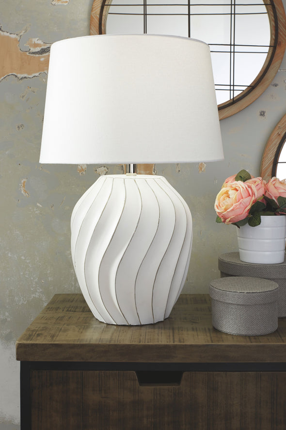 Hidago - White - Paper Table Lamp (1/CN)