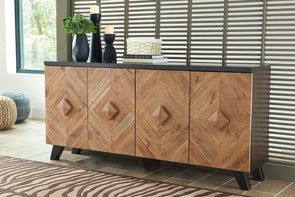 Robin Ridge - Two-tone Brown - Accent Cabinet