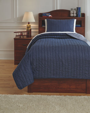 Capella - Denim -  Quilt Set