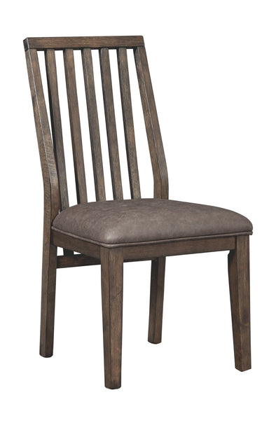 Kisper - Brown - Dining UPH Side Chair