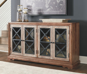 Ellisburg - Antique Brown - Accent Cabinet