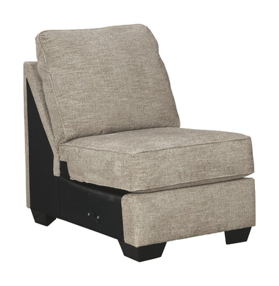 Bovarian - Stone - Armless Chair