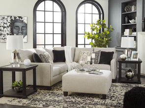Hallenberg - Fog - LAF Sofa with Corner Wedge & RAF Loveseat Sectional