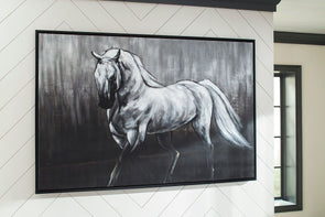 Victor - White/Black - Wall Art