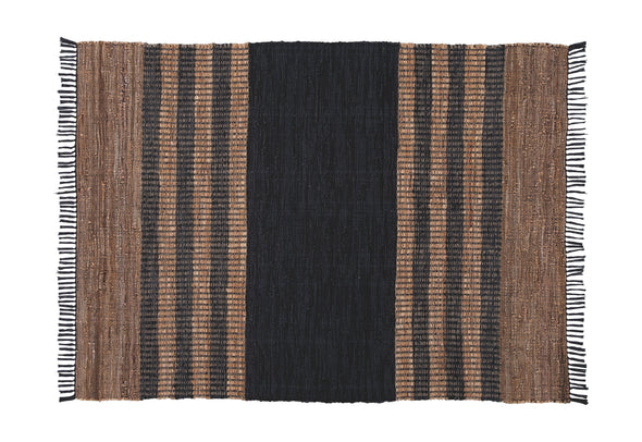 Zoran - Black/Brown - Large Rug